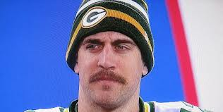 aaron rodgers moustache