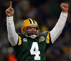 brett favre celebration