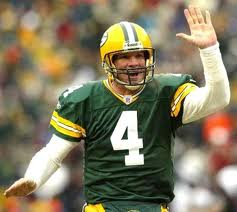 brett favre high five