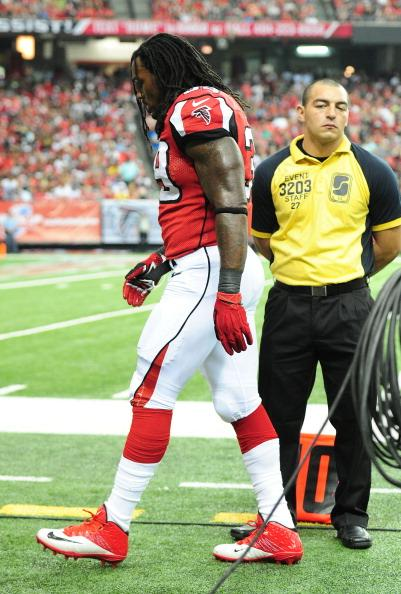 Steven Jackson was injured in Week 2, solidifying why Ted Thompson passed on him.