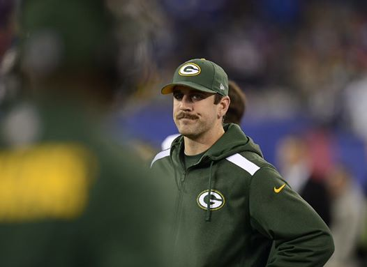 aaron rodgers frustrated