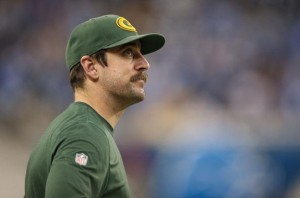 It's been tough for Aaron Rodgers to watch the last six games from the sideline with a broken left collarbone.