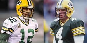You make the call: Aaron Rodgers or Brett Favre