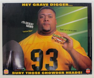 gilbert brown burger