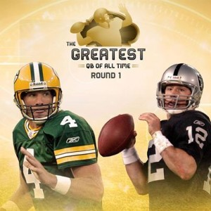 brett favre and rich gannon