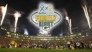 green bay packers family night
