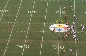 Troy Polamalu (circled) played some nickel linebacker for the Steelers last season.  I believe Micah Hyde could do the same in Green Bay.
