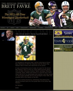 favre website