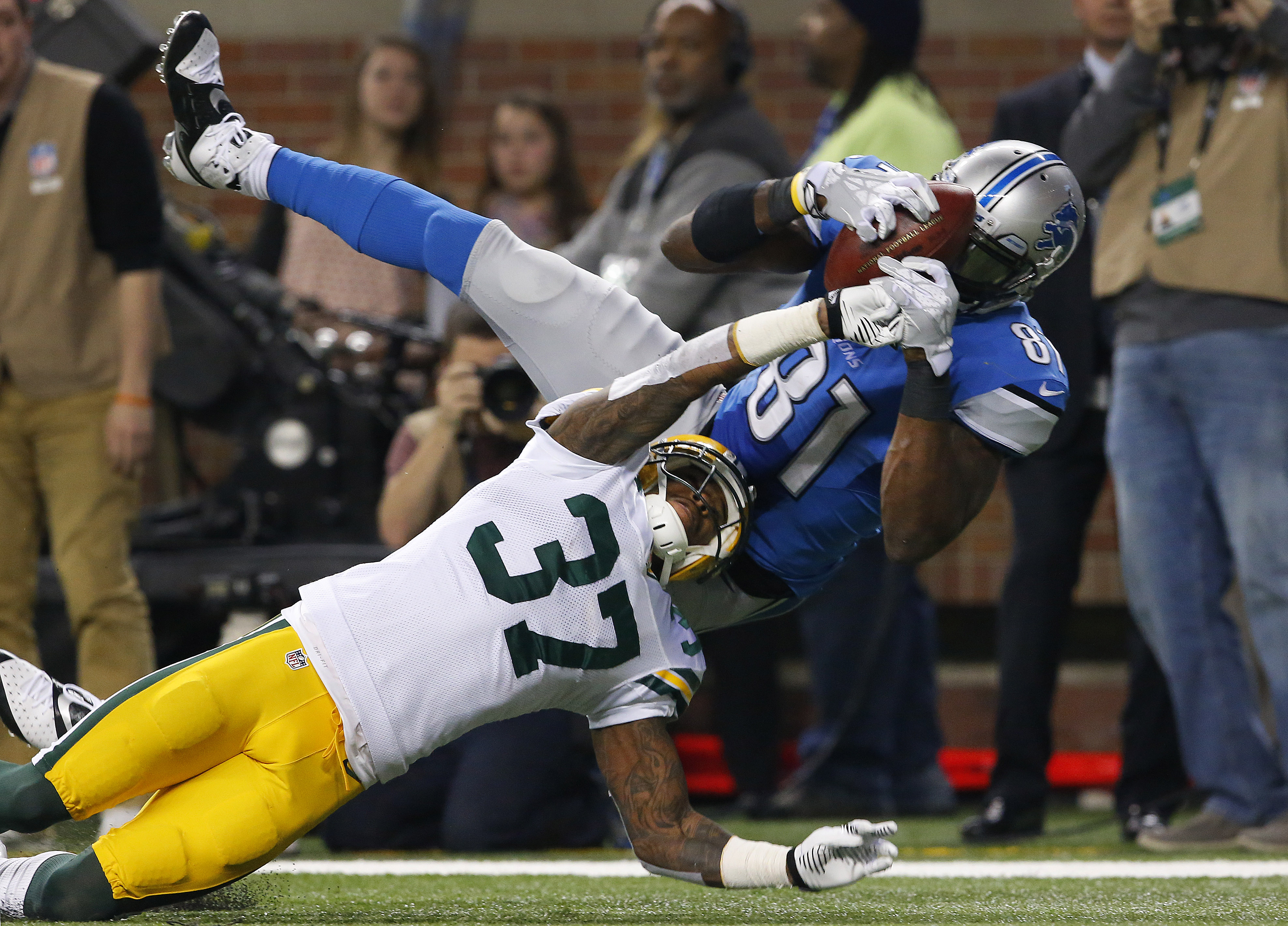 Packers vs. Lions
