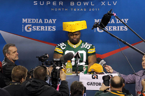 BJ Raji - Media Day