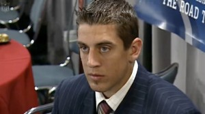 Rodgers draft day