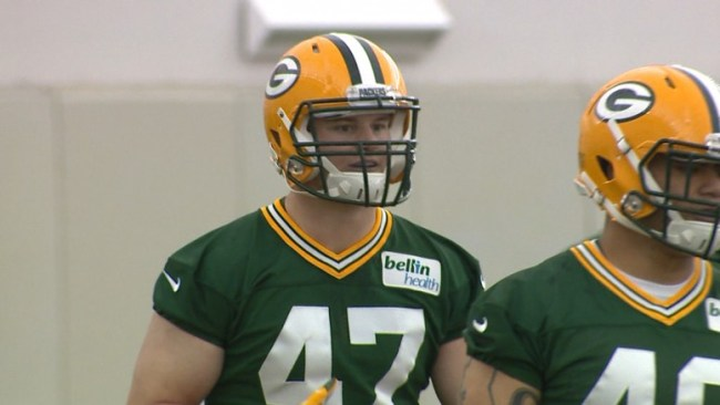 Green Bay PACKERS LB Jake Ryan