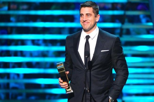 Reigning MVP and Packers' Quarterback Aaron Rodgers