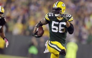 Packers' Linebacker Julius Peppers