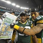 Packers favorites to be Super Bowl Champs
