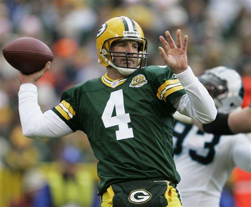 Packers QB Brett Favre
