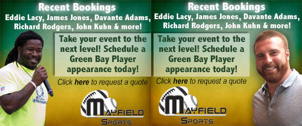 Eddie Lacy, John Kuhn, Book Packers players appearances
