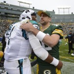 Rodgers and Newton square off Sunday in a potential playoff preview.