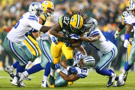 Packers Running Back Eddie Lacy