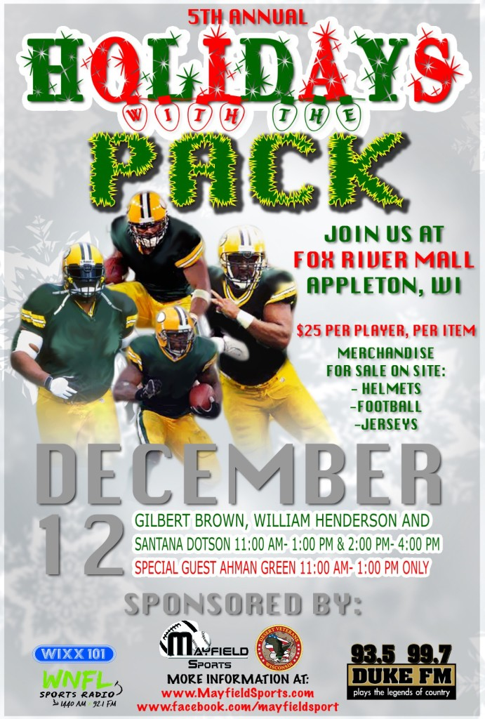 Holidays with the Pack - Mayfield Sports Marketing