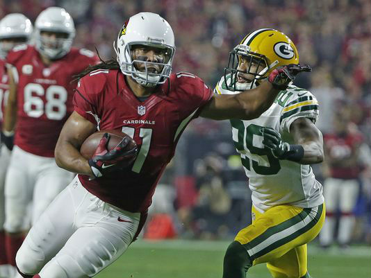 Packers CB Casey Hayward and Cardinals WR Larry Fitzgerald