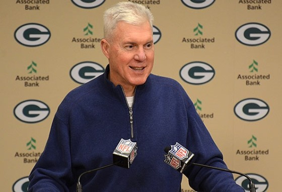 Packers' general manager Ted Thompson