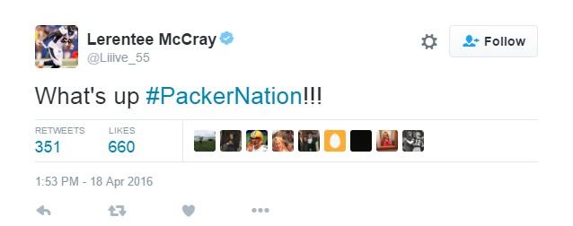 McCray tweet