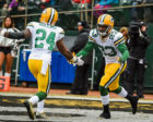 Packers' Defensive Backs Quinten Rollins and Damarious Randall