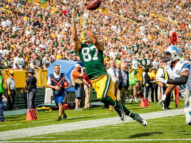 Packers' WR Jordy Nelson