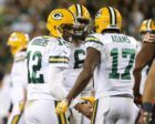 Packers QB Aaron Rodgers and WR Davante Adams