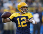 Aaron Rodgers looks to bounce back after a shakey performance versus Dallas