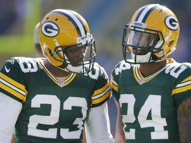 Packers CBs Damarious Randall and Quinten Rollins