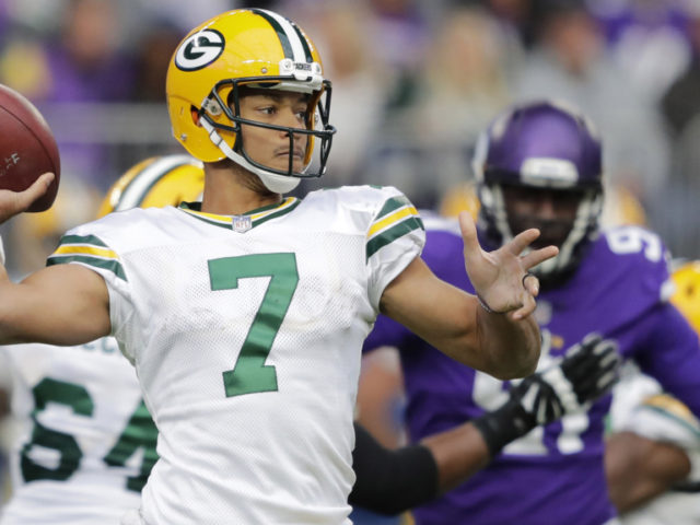 Packers' QB Brett Hundley