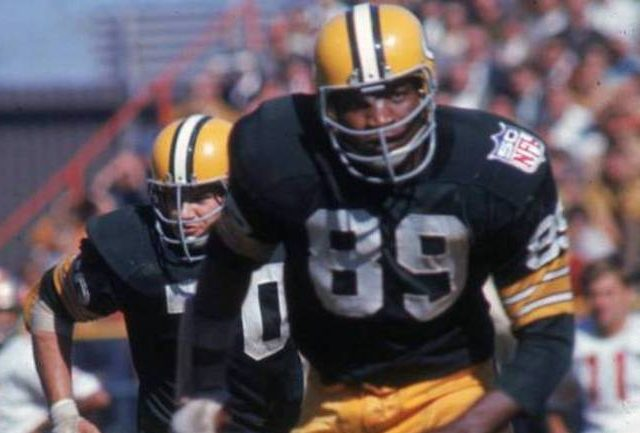 Former Packers' LB and #14 overall pick Dave Robinson