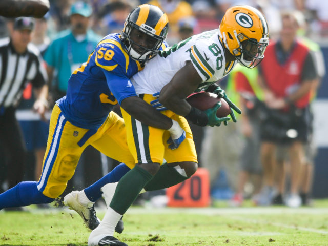 Packers' RB Ty Montgomery
