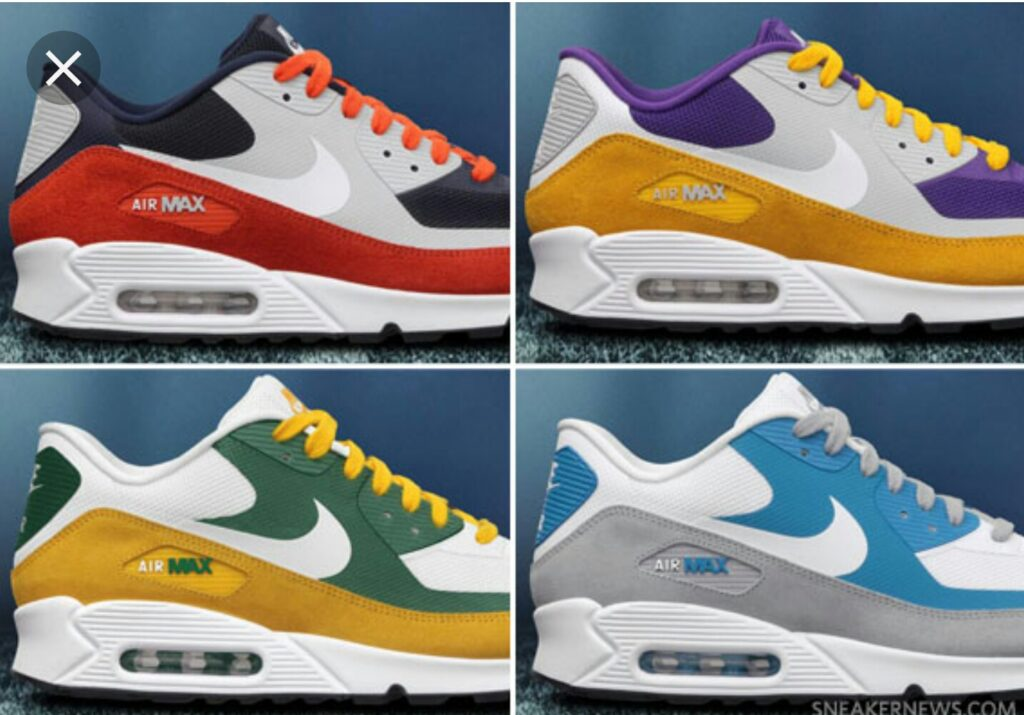 acb8d5dd91da The NFC North quartet of sneakers was released on the same day in April  2012 (b)