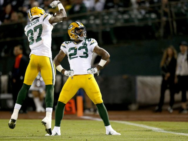 Packers' DBs Josh Jackson and Jaire Alexander