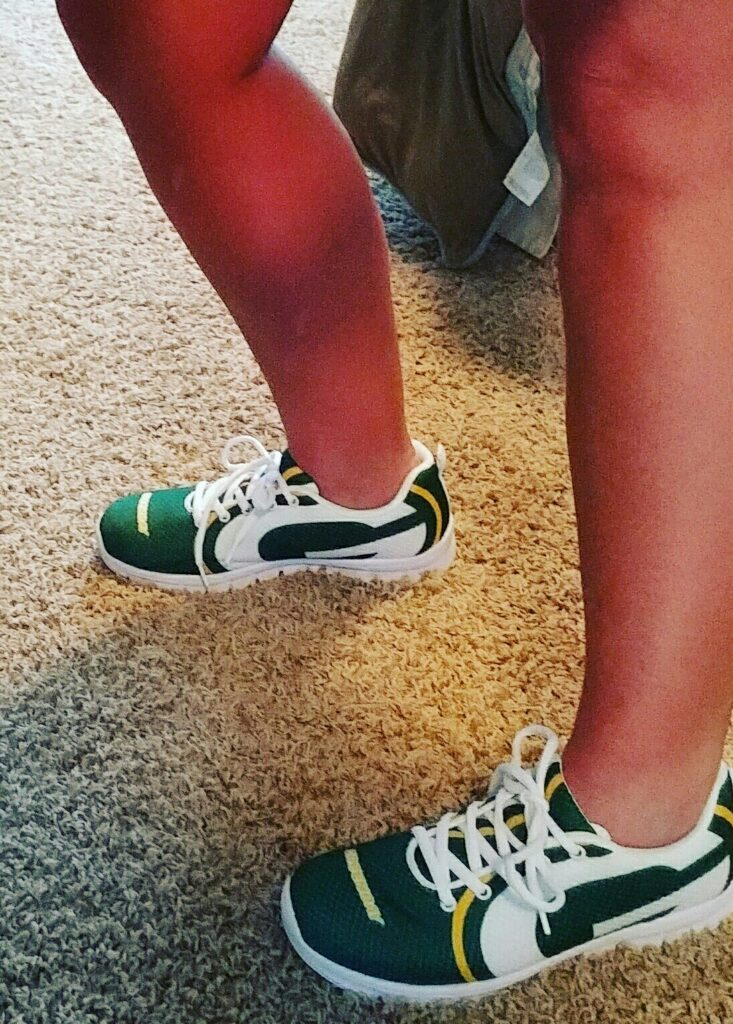 super popular 218f4 a037c Green Bay Packers: Buy The Shoes | PackersTalk.com