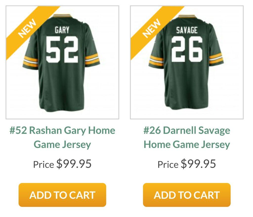 cheap for discount da421 d9953 Green Bay Packers: Game Worn | PackersTalk.com